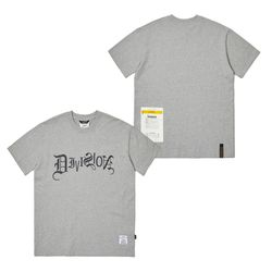 TYPO STANDARD FIT T-SHIRTS GRAY