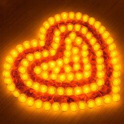 결혼 프로포즈 LED 촛불 용품 세트 C