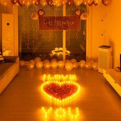 결혼 프로포즈 LED 촛불 용품 세트 I