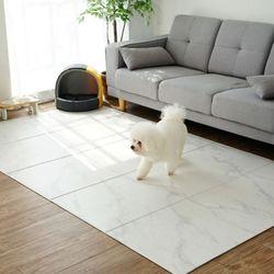 양면 폴딩형 애견매트 140x250cm 스노우마블 강아지 펫