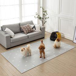 양면 폴딩형 애견매트 140x250cm 파인트리 강아지 펫 매트