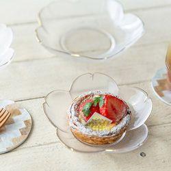 골드림 꽃 접시 (2size)