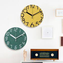 브론즈하우스 MCC[NEW] 30cm 컬러보드 무소음 벽시계