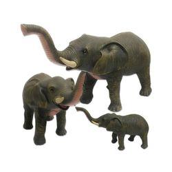소프트 동물 애니멀랜드 코끼리(대형)-코끼리 피규어