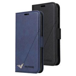 아이폰6플러스 포인트라인 카드수납 가죽 케이스 P587