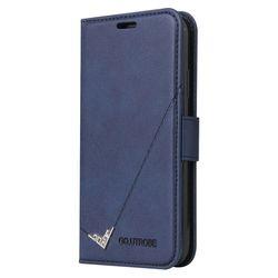 아이폰8플러스 포인트라인 카드수납 가죽 케이스 P587