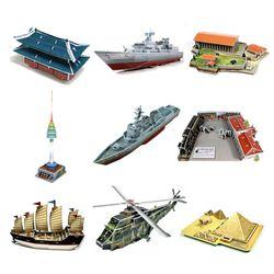 3D입체퍼즐 뜯어 만들기 교구 모음전 2