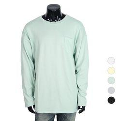 [쿠비코]포켓 라운드넥 티셔츠 COT-MZ159