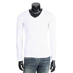 [쿠비코]후라이스 브이넥 남성 긴팔 티셔츠 MZ167