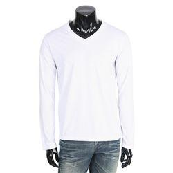[쿠비코]TR 소재 남성 브이넥 긴팔 티셔츠 COT-MZ169