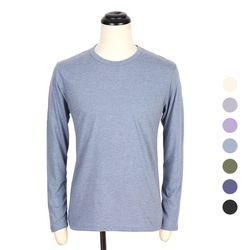 [쿠비코]무지 보카시 기본 긴팔 티셔츠 COT-MZ174