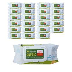 소독용 에탄올 알콜티슈 균이제로 75매x24팩1BOX