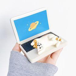 노트북 고양이 스마트폰 거치대 핸드폰거치대