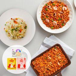 [그로서리서울]곤약볶음밥 3종(햄김치+해물+닭가슴살 14팩)