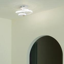 나선 크리스탈 골드 화이트 LED 센서등 20w