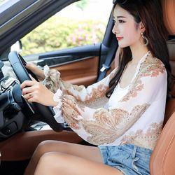 여성운전 자외선차단 숄/팔토시