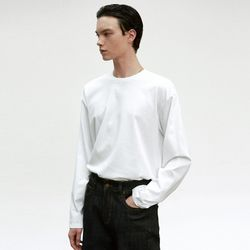 COTTON LONG SLEEVE [WHITE]