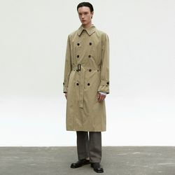 OVERSIZE TRENCH COAT [BEIGE]