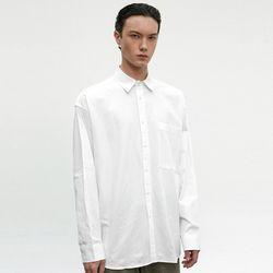 OVERSIZE COTTON SHIRT [WHITE]