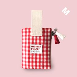 Spring check pouch - Red