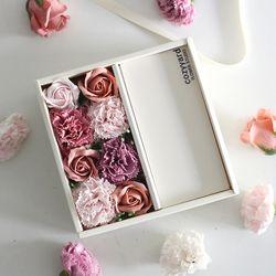 지폐말이 용돈박스(2clolor) 진핑크-어버이날 비누꽃