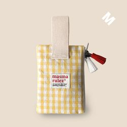 Spring check pouch - Yellow