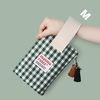 Spring check pouch - Green