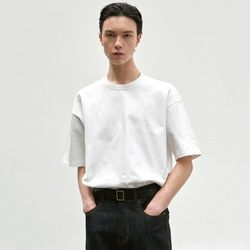 RELAX CREW NECK T-SHIRT [WHITE]