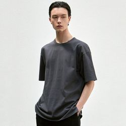 RELAX CREW NECK T-SHIRT [CHARCOAL]