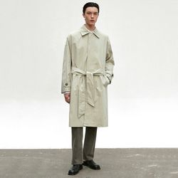 BALMACAN ROBE COAT [LIGHT KHAKI]