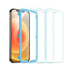 ESR 아이폰1212pro 가이드 풀커버 강화유리