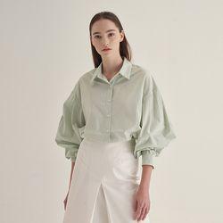 Pintuck point Shirts - Mint