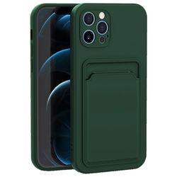 아이폰8 컬러 카드 포켓 커버 젤리 케이스 P574