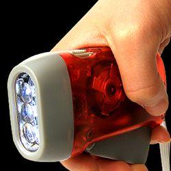 충전식 LED 후레쉬 자가발전 랜턴 라이트 손전등 램프
