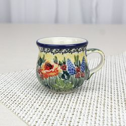 폴란드그릇 아티스티나 에소잔 커피잔 유니캇 u4288