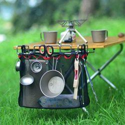 휴대용 스토리지 캠핑테이블 매쉬렉 보관함 캠핑용품
