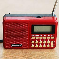 올인원 MP3플레이어+미니 라디오+휴대용 스피커