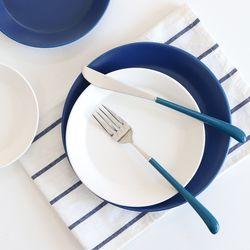 위즈라인 매트 쿠프 접시 카페 그릇