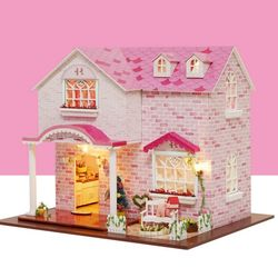 [adico]DIY 미니어처 풀하우스 - 핑크 스위트 하트
