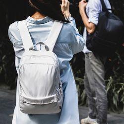 렛츠고 초경량 플레인 남녀공용 캐주얼 백팩 가방