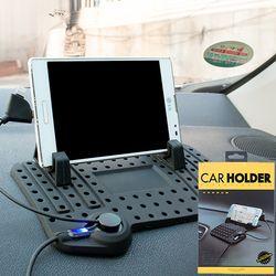 논슬립 차량용 핸드폰 거치대 USB충전 자동차 휴대폰