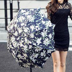 들판 꽃무늬 양우산