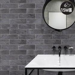 [15M] HWP-21665 다크그레이 대리석타일벽돌