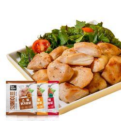 스팀 닭가슴살 혼합구성 100gx22팩(2.2kg)