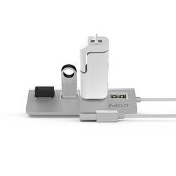 넥스트 NEXT-214UH USB2.0 알루미늄바디 4포트 확장 무전원 허브