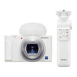 브이로그 카메라 ZV-1 화이트 + GP-VPT2BT 셀피스틱 패키지