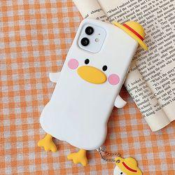 모자 오리 케이스(아이폰78)