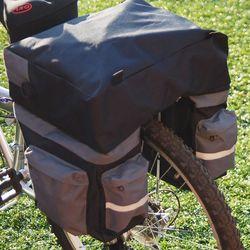 3단분리 자전거 패니어 자전거가방 자전거 짐받이 가방 수납함