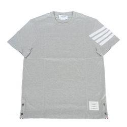 21SS 사선 완장 반팔 티셔츠 그레이 MJS152A 06221055