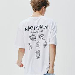 스터프 컬렉션 티셔츠 화이트